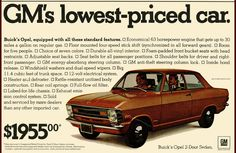 1970 Advertisement for Buick Opel Vintage Advertisements, Vintage Ads, Olympia, Pontiac Lemans, Import Cars, Car Advertising, Retro Cars, Buick, Old Cars