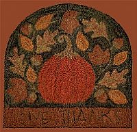 Give Thanks Punchneedle Embroidery Kit by Teresa Kogut