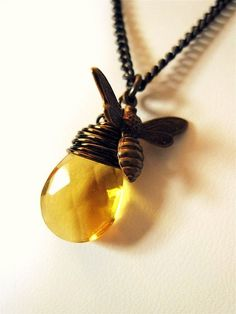 Honey Drop Necklace