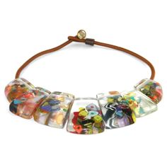 Fab.com   Seven Splayed Cascade Necklace by Sobral