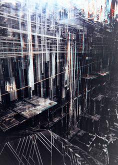 Mining Facility by Atelier Olschinsky Deconstructivism, Spiritual Images, Landscape Concept, Pop Design, Graphic Design, Graphic Art, Ex Machina, Portraits, Glitch Art