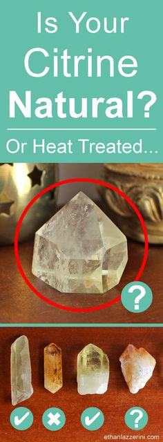 How do you know if your Citrine is natural or heat treated? What is the difference between the energy and properties of natural Citrine Vs heat treated?