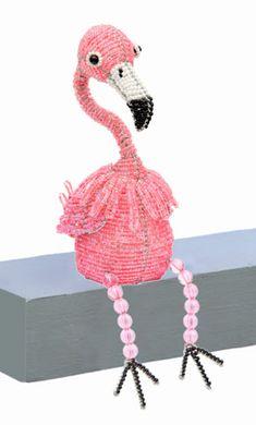 Bead Flamingo