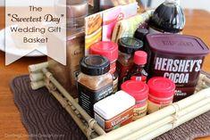 """The """"Sweetest Day"""" Wedding Gift Basket"""