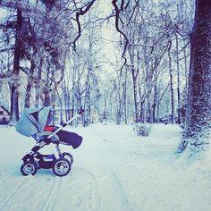 #abcdesign #thinkbaby #viper4 #abcdesign_viper4 #winterwonderland #winterstroll #snow #outdoor #airfilledwheels #offroad #baby #littleone #cozy #pram #pushchair #stroller #kinderwagen #instababy #picoftheday