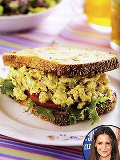 Katie Holmes's Favorite Curried Chicken Salad: Get the Recipe!