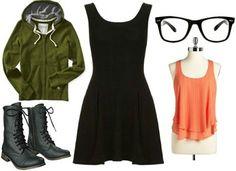Black dress costume ideas pictures