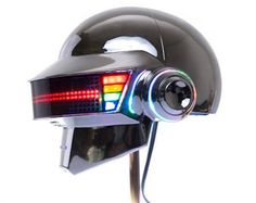 daft punk-helmet FULL LED COSPLAY tron  halloween Cheap Sales currentprops