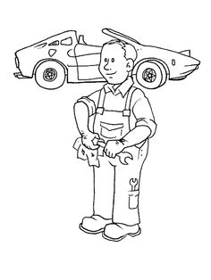 Occupations - 999 Coloring Pages