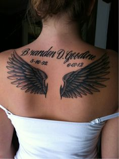 Perfect wings. great placement too