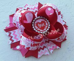 Hey, I found this really awesome Etsy listing at https://www.etsy.com/listing/215943467/valentines-day-hair-bow-valentines-day
