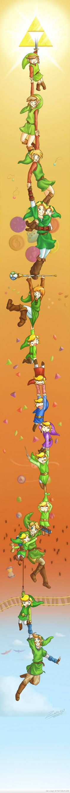 Link, The Hero Of Time. Cutest thing I've ever seen!