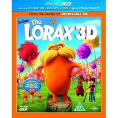 DR Seuss The Lorax (Blu-ray 3D   Blu-ray   DVD) The 3D-CGI feature Dr. Seuss The Lorax is an adaptation of Dr. Seuss classic tale of a forest creature who shares the enduring power of hope. The animated adventure follows the journey of a boy as he  http://www.MightGet.com/january-2017-12/dr-seuss-the-lorax-blu-ray-3d- -blu-ray- -dvd-.asp