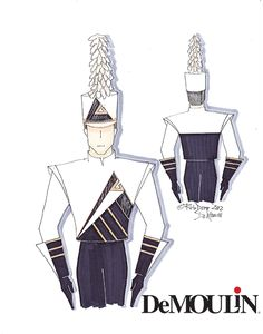 Rob Depp Designs - Made-to-Order Uniforms - Marching Band - DeMoulin Marching Band Shows, Marching Band Uniforms, Uniform Design, Grand National, Color Guard, Boy Outfits, Costumes, School, Boys
