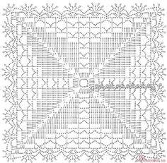 Красота квадратного мотива!!!!Много схем. Обсуждение на LiveInternet - Российский Сервис Онлайн-Дневников