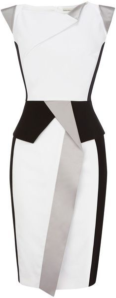 Karen Millen Colourful Sculptural