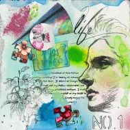 Art Journaling Today!