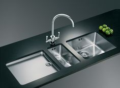 Get best varieties of Steel Kitchen Sink in India and it is the top steel kitchen sink manufacturer in India and also in Delhi. Bass Kitchen Sink is one of the best steel kitchen sink supplier and Best SS Kitchen Sink manufacturer in Delhi. Franke Kitchen Sinks, Franke Sink, Modern Kitchen Sinks, Kitchen Sink Design, Steel Kitchen Sink, Kitchen Sink Faucets, Functional Kitchen, Cool Kitchens, New Kitchen