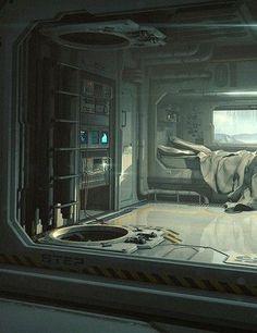 Sci_Fi Bedroom