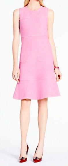 Kate Spade pink boucle