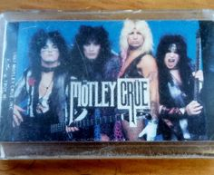Vintage Motley Crue Keychain Original 80's Rock n Roll Button-Up 1987 Hair Metal Band Swag Nikki Sixx Vince Neil Tommy Lee Mick Mars by OffbeatAvenue on Etsy
