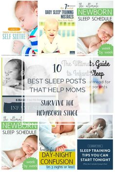 Being tired because your newborn doesn't sleep com…