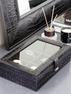 Balmuir Park Lane 6–watch box Tie Storage, Watch Box, Container, Park, Decoration, Spring, Summer, Leather, Accessories