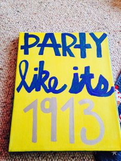 So cute!! Just replace with your sororities founding year!!