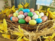 Easter eggs coloring: interesting ideas