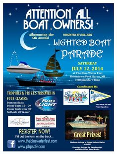 Join the City of Port Huron for the magical night.