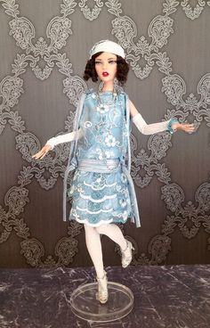 2015 West Coast Exclusive: Emma Jean Singing the Blues . Deja vu collection- Robert Tonner doll.