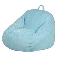 Circo Oversized Bean Bag Chair. Comes in dark red and navy. $31.99 at Target.