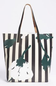 Marni Floral Stripe Tote available at #Nordstrom