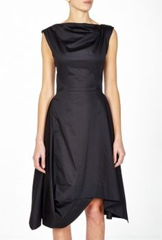 Black Aztek Dress By Vivienne Westwood Anglomania