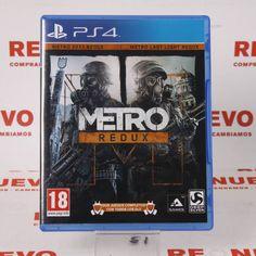 #Videojuego #METRO REDUX para #PS4 E269861 de segunda mano | Tienda de Segunda Mano en Barcelona Re-Nuevo #segundamano