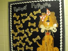 Philanthropy is about finding fun initiatives that will allow you to give back… Dog Bulletin Board, Teacher Bulletin Boards, Preschool Bulletin Boards, Preschool Classroom, Classroom Themes, Kindergarten Fun, Kindergarten Decoration, Dog Room Decor, Puppy Room