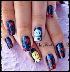 Pon & Zi nail art