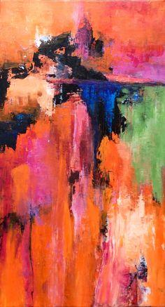 Abstrakte Kunst Abstrakter Expressionismus Acrylgemälde