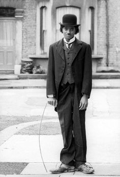 Michael Jackson as Charlie Chaplin, 1970s