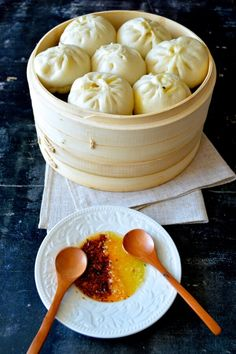 Carrot Ginger Pork Buns, Two Ways by thewoksoflife.com