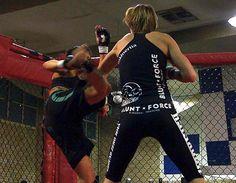 Darla winning her 3rd fight in Casper WY 5/12