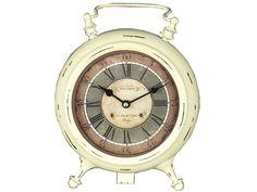 Reloj de mesa beige