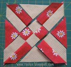 Tutorial - Patchwork geometry: Anita's Arrowhead - love this pattern, have made 3 quilts, and will make more
