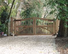 Magnificent Driveway Gates mode Other Metro Traditional Exterior Decorators with none Magnificent Driveway Gates mode Other Metro Traditional Exterior Decorators with none Thank to Britannia Joinery Tor Design, Gate Design, Farm Gate, Fence Gate, Fencing, Front Gates, Entrance Gates, Entrance Ideas, Gate Ideas
