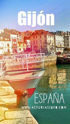 ¿ Qué ver en Asturias ?. Existe un lugar con un encanto especial #gijon #asturias #viajar #travel