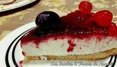 Tan solo vas a tardar 15 minutos en preparar esta cheesecake facilísimo y sin horno que comparten desde el blog LAS RECETAS Y TRUCOS DE ANNA.