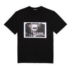 브루클린 티셔츠 Red Bomber Jacket Men, Chinese Clothing, Black Girl Fashion, Tee Design, Mens Tees, Urban Fashion, Mockup, Printed Shirts, Shirt Designs