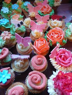 Cupcakes at Miss Courtney's Tearooms