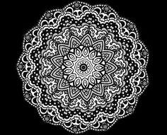 Flower Zentangles | Zentangle Inspired Flower Doodle Drawing