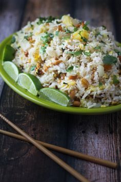 Paradise Fried Rice - So easy to make, and a great way to use up leftover rice!